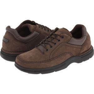 ロックポート メンズ 革靴・ビジネスシューズ シューズ・靴 Eureka Chocolate Nubuck|fermart2-store