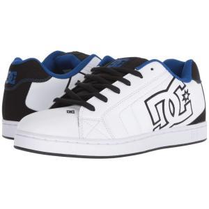 ディーシー DC メンズ スニーカー シューズ・靴 Net SE White/Black/Blue|fermart2-store