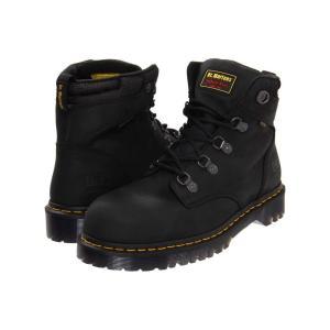 ドクターマーチン Dr. Martens メンズ ブーツ シューズ・靴 Holkham SD Black Industrial Greasy|fermart2-store