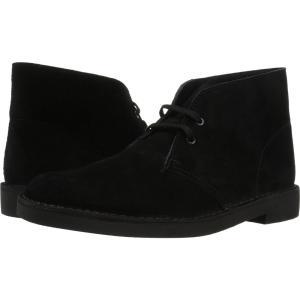 クラークス メンズ ブーツ シューズ・靴 Bushacre 2 Black Suede|fermart2-store