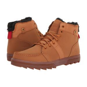 ディーシー DC メンズ ブーツ シューズ・靴 Woodland Wheat/Black|fermart2-store