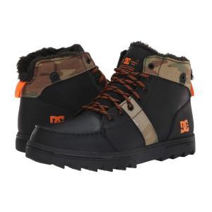 ディーシー DC メンズ ブーツ シューズ・靴 Woodland Black/Multi|fermart2-store