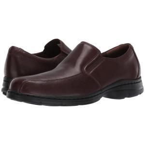 ダナム Dunham メンズ スリッポン・フラット シューズ・靴 Blair Twin Gore Slip On Brown Smooth|fermart2-store