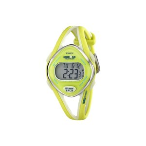 タイメックス Timex レディース 腕時計 Ironman Mid Size Sleek 50-Lap Digital Watch Green|fermart2-store
