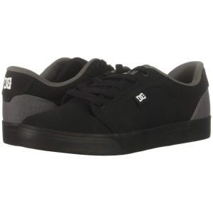 ディーシー DC メンズ スニーカー シューズ・靴 Anvil TX Black/Battleship/Black|fermart2-store
