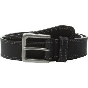 ティンバーランド Timberland メンズ ベルト Boot Leather Belt Black 1|fermart2-store