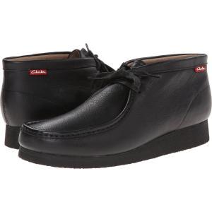 クラークス メンズ ブーツ シューズ・靴 Stinson Hi Black Oily Leather|fermart2-store
