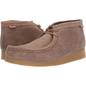 クラークス Clarks メンズ ブーツ シューズ・靴 Stinson Hi Taupe Distressed Suede|fermart2-store