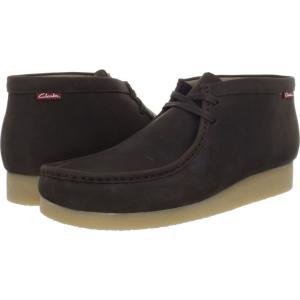 クラークス Clarks メンズ ブーツ シューズ・靴 Stinson Hi Brown Oily|fermart2-store