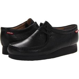 クラークス Clarks メンズ ブーツ シューズ・靴 Stinson Lo Black Leather|fermart2-store