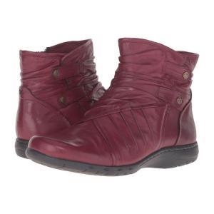 ロックポート レディース ブーツ シューズ・靴 Cobb Hill Pandora Bordeaux|fermart2-store