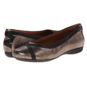 ロックポート レディース スリッポン・フラット シューズ・靴 Cobb Hill RevChi Pewter|fermart2-store