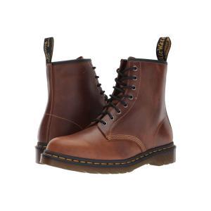 ドクターマーチン Dr. Martens メンズ ブーツ シューズ・靴 1460 8-Eye Boot Butterscotch Orleans/Black Pu|fermart2-store