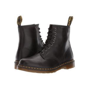 ドクターマーチン Dr. Martens メンズ ブーツ シューズ・靴 1460 8-Eye Boot Gunmetal Orleans/Black Pu|fermart2-store