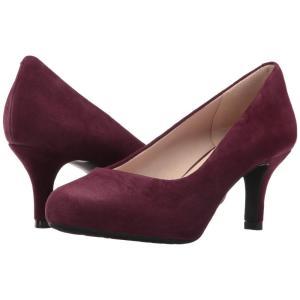 ロックポート レディース パンプス シューズ・靴 Seven to 7 Low Pump Dark Vino Kid Suede|fermart2-store