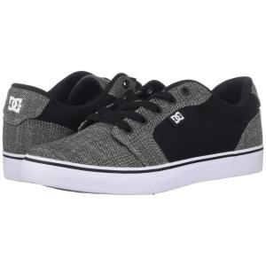 ディーシー DC メンズ スニーカー シューズ・靴 Anvil TX SE Black/Stone|fermart2-store