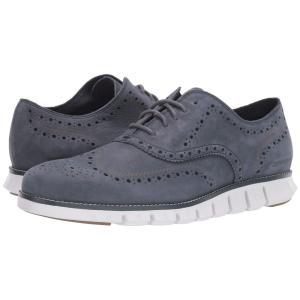 コールハーン Cole Haan メンズ 革靴・ビジネスシューズ シューズ・靴 Zerogrand Wing Ox Ombre Blue Nubuck/Nimbus Cloud|fermart2-store