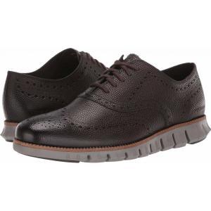 コールハーン Cole Haan メンズ 革靴・ビジネスシューズ シューズ・靴 Zerogrand Wing Ox CH Black Walnut Pebbled Leather/Rock Ridge|fermart2-store