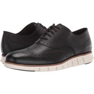 コールハーン Cole Haan メンズ 革靴・ビジネスシューズ シューズ・靴 Zerogrand Wing Ox Magnet Pebbled Leather/Black|fermart2-store