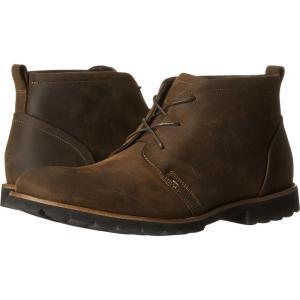 ロックポート メンズ ブーツ シューズ・靴 Charson Brown Oiled Leather|fermart2-store