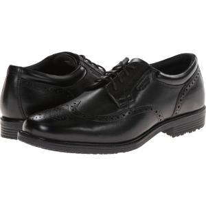 ロックポート Rockport メンズ 革靴・ビジネスシューズ シューズ・靴 LTP Wing Tip Black WP Leather|fermart2-store