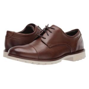 ロックポート Rockport メンズ 革靴・ビジネスシューズ シューズ・靴 channer Brown Leather|fermart2-store