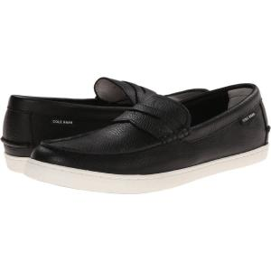 コールハーン Cole Haan メンズ ローファー シューズ・靴 Pinch Weekender Black Leather/White|fermart2-store