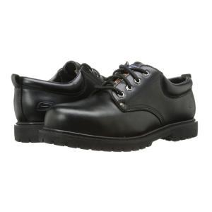 スケッチャーズ SKECHERS Work メンズ 革靴・ビジネスシューズ シューズ・靴 Cottonwood - Cropper Black|fermart2-store