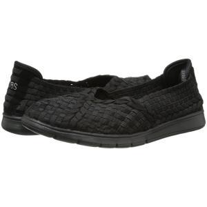 スケッチャーズ レディース スリッポン・フラット シューズ・靴 Pureflex - Prima Bal Black/Black|fermart2-store
