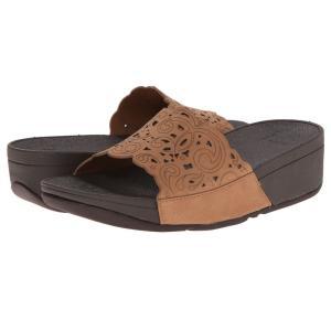 フィットフロップ レディース サンダル・ミュール シューズ・靴 Flora Slide Tan fermart2-store
