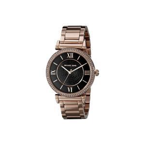 マイケル コース Michael Kors レディース 腕時計 MK3356 - Catlin Rose Gold Tone|fermart2-store