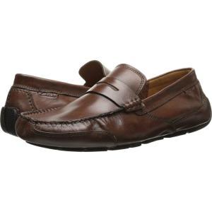 クラークス Clarks メンズ ローファー シューズ・靴 Ashmont Way Cognac Smooth Leather|fermart2-store