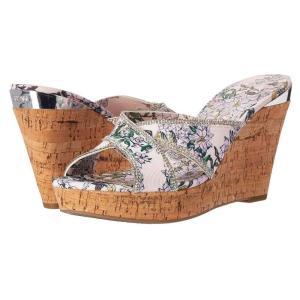 ゲス GUESS レディース サンダル・ミュール シューズ・靴 Eleonora Primrose Pink Fabric|fermart2-store