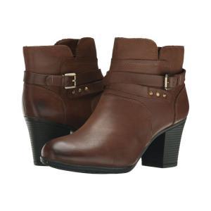 ロックポート Rockport レディース ブーツ シューズ・靴 City Casuals Catriona Buckle Bootie Nutella Nubuck|fermart2-store