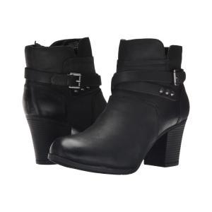 ロックポート Rockport レディース ブーツ シューズ・靴 City Casuals Catriona Buckle Bootie Black Nubuck|fermart2-store