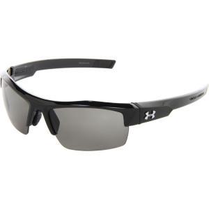 アンダーアーマー メンズ メガネ・サングラス UA Igniter Shiny Black/Gray|fermart2-store