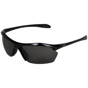 アンダーアーマー Under Armour レディース スポーツサングラス Zone XL Shiny Black/Gray|fermart2-store