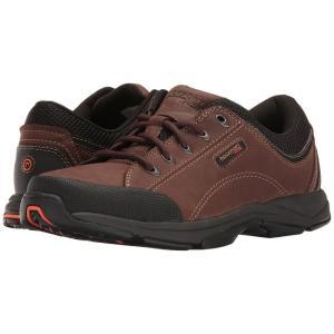 ロックポート メンズ スニーカー シューズ・靴 Chranson Dark Brown/Black|fermart2-store