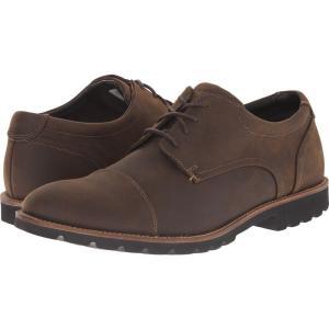 ロックポート Rockport メンズ 革靴・ビジネスシューズ シューズ・靴 Sharp & Ready Channer Brown Oiled Leather|fermart2-store