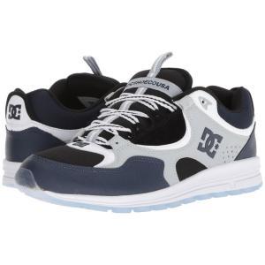 ディーシー DC メンズ スニーカー シューズ・靴 Kalis Lite Blue/Black/Grey|fermart2-store