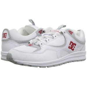 ディーシー DC メンズ スニーカー シューズ・靴 Kalis Lite White/Red|fermart2-store