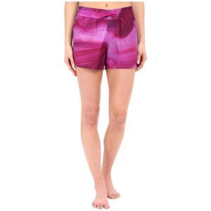 ザ ノースフェイス レディース ショートパンツ ボトムス・パンツ Printed Class V Shorts Fuchsia Pink Water Swirl Print (Prior Season)|fermart2-store