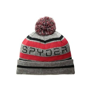 スパイダー Spyder メンズ ニット 帽子 Icebox Hat Polar/Red/Black|fermart2-store