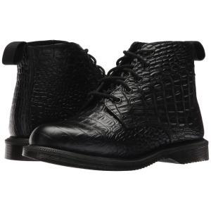 ドクターマーチン Dr. Martens レディース ブーツ シューズ・靴 Emmeline 5-Eye Boot Black New Vibrance Croco|fermart2-store