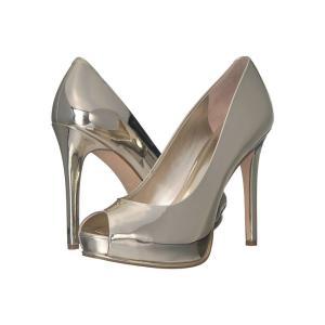 ゲス GUESS レディース パンプス シューズ・靴 Honora Gold Synthetic|fermart2-store