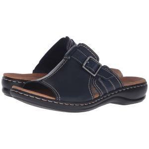 クラークス レディース サンダル・ミュール シューズ・靴 Leisa Gianna Navy|fermart2-store