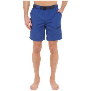 ザ ノースフェイス メンズ 海パン 水着・ビーチウェア Belted Guide Trunks Limoges Blue (Prior Season)|fermart2-store