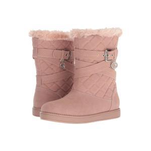 ゲス G by GUESS レディース ブーツ シューズ・靴 Babez Pink Fabric|fermart2-store