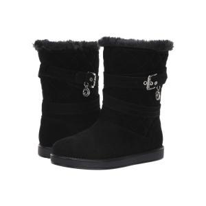 ゲス G by GUESS レディース ブーツ シューズ・靴 Babez Black Fabric|fermart2-store