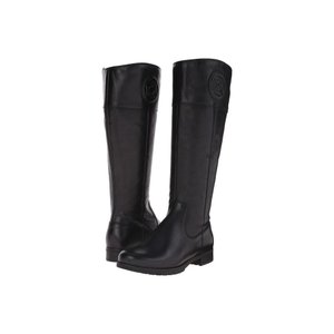 ロックポート Rockport レディース ブーツ シューズ・靴 Tristina Rosette Tall Boot - Wide Calf Black Cas Leather WL WC|fermart2-store